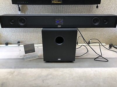 SINCLAIR AUDIO INVISIBAR TV3 WITH WIRELESS SUB~ FREE SHIP
