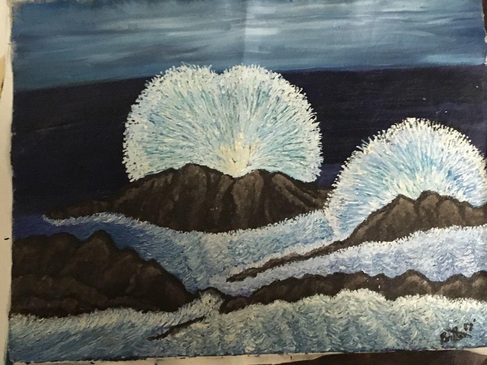 Oil Painting - Storm Surge - $300.00