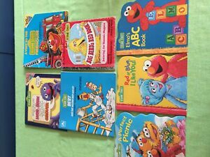 Sesame Street book collection (7 books)