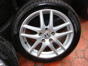 "Set Of 17"" Genuine Honda Accord Euro Sport Rims 5 Stud x114.3 PCD Green Valley Liverpool Area Preview"