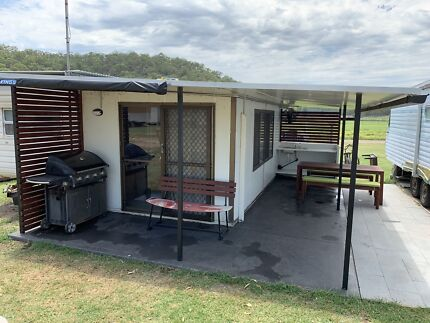 Onsite caravan at Dargle ski park Winmalee Blue Mountains Preview