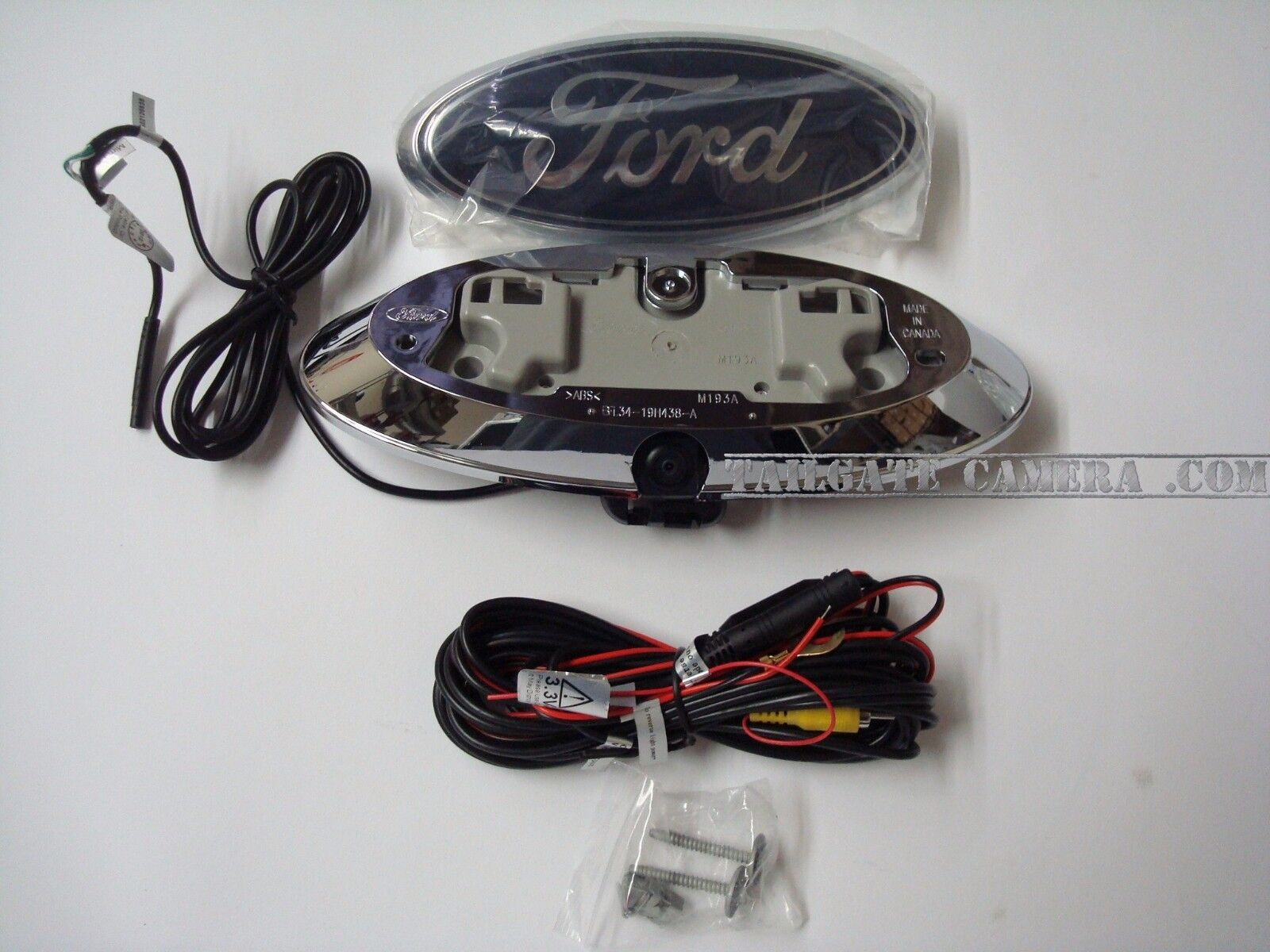 Ford OE Fit Emblem Logo Backup HD Camera F150, F250, F350 Flex Assembled in USA