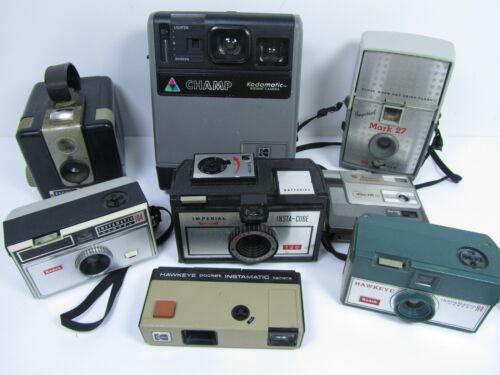 vintage film camera lot
