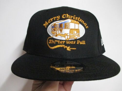 CHRISTMAS VACATION (NEW ERA) HAT (THE SH**TER) IS FULL RANDY QUAID CLASSIC SNPBK