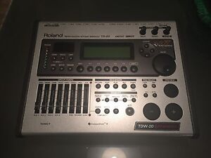 Roland TD-20 Percussion Drum Module with TDW-20 Expansion Card Greenwith Tea Tree Gully Area Preview