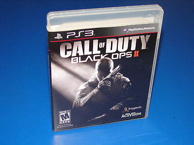 Call Of Duty  Black Ops Ii 2 Ps3  Sony Playstation 3    Great Shape   Mint Disc