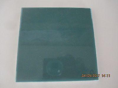 "Florida Ceramic Wall Tile 4 3/8""x4 3/8"" #1256 Oasis (green) 1 piece gloss finish"