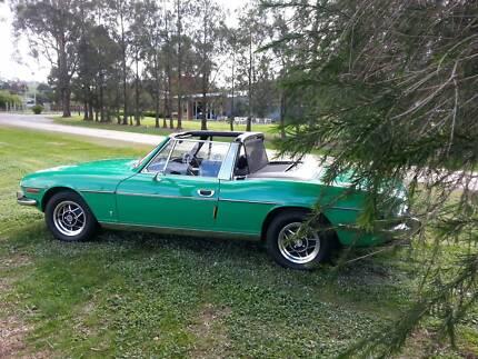1977 Triumph Stag Convertible