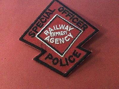 REA Railroad Police patch