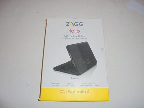 ZAGG Folio Case for Apple® iPad® mini 4 Black IM4ZFN-BB1