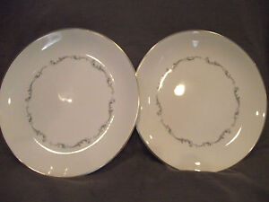 Set-of-2-Royal-Doulton-Coronet-Dinner-Plates