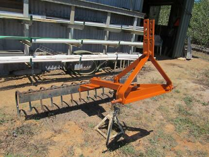1.8 meter wide 3 point hitch mounted STICK RAKE
