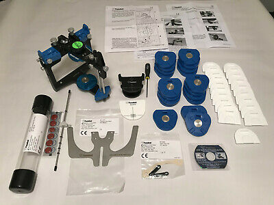 New Panadent Magnetic Pch Articulator And Kois Facebow - Complete Set