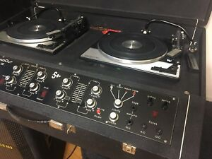 VINTAGE 1977 DJ TURNTABLES $1500 Pickering