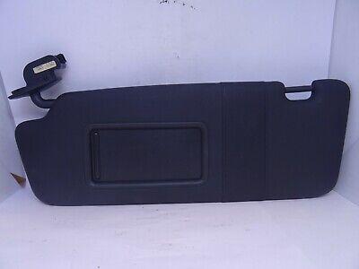 *AUDI A3 MK2 8P 2004-2013 BLACK PASSENGER LEFT SUN VISOR WITH LOOM 8P0857551