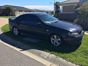 PRICE DROP!! Black 2003 Ford Falcon XR6 Pakenham Cardinia Area Preview