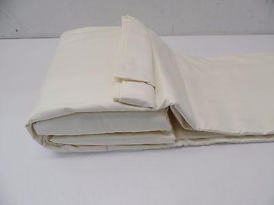 Veratex Platinum Collection  500Tc Embellish 6 Piece Sheet Set    King    Ivory