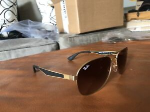 Special edition Ray-ban aviators gold on gold with thick arms!