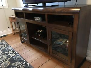 Ashley solid wood TV cabinet
