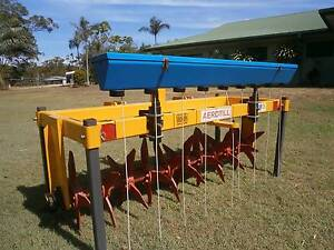 Paddock Aerator with Seed Box Redland Bay Redland Area Preview
