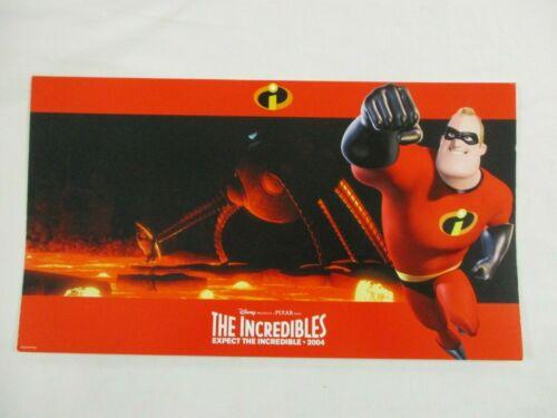 Complete Movie Lobby Card Set 2004 The Incredibles Disney Pixar Superhero