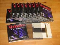 Magneto-optical Cartdrige Verbatim 5,25, 650mb Doublesided - verbatim - ebay.it