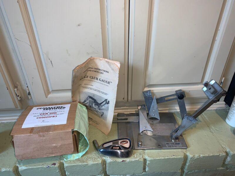 Vintage RALPH MALTBY  Enterprises Precision Measuring (Golf Club Gauge ) Rare