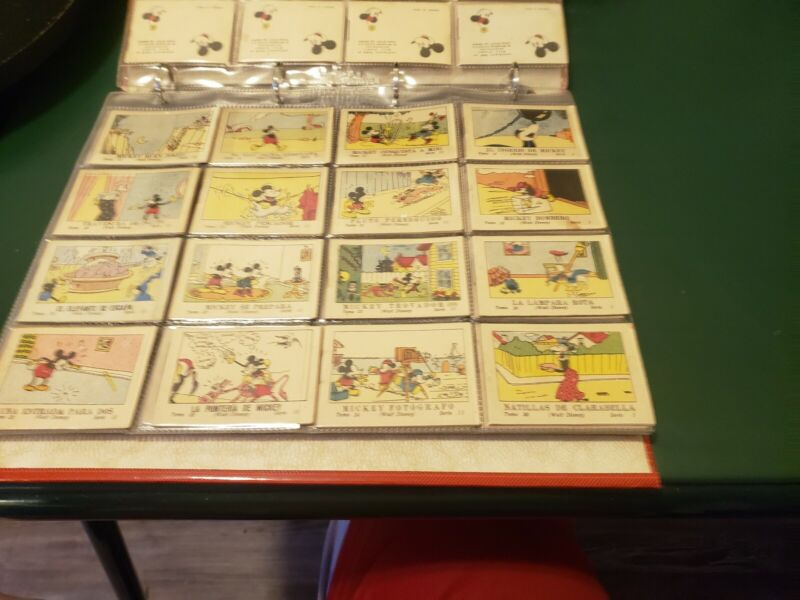 mickey mouse 1936 gum cards
