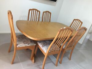 7 piece dining suite - extendable table