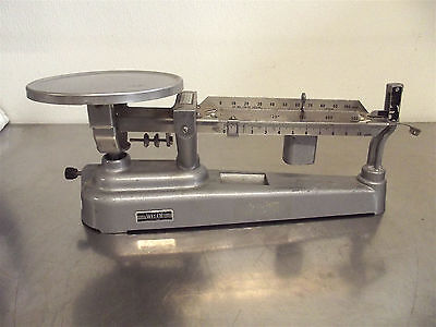 Welch Scientific Triple Beam Scalegood Working Cosmetic Conditions2818x