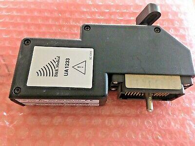 Bk Medical Ua 1233 Ultrasound Transducer Probe Connection Adapter