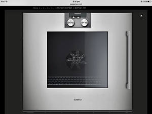 Gaggenau pyrolytic oven BOP 221 111 Cremorne North Sydney Area Preview