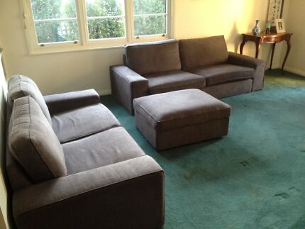 3-piece IKEA Kivik sofa set only $999 (costs $1,847 new) Deakin South Canberra Preview