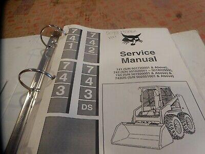 Bobcat 741 742 743 Service Manual