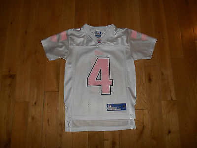 Reebok ADAM VINATIERI NEW ENGLAND PATRIOTS #4 NFL Team Replica JERSEY youth (Pink Youth Replica Jersey)