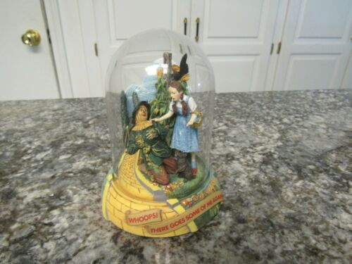 Franklin Mint Wizard of Oz Whoops There Goes Some of me again! Dome Music Box