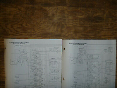 Bobcat 435 Excavator Hydraulic Hydrostatic Schematic Diagram Manual