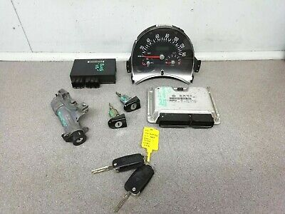 Volkswagen Beetle 2.0 Petrol Manual Lock Set Ignition Barrel ECU Comfort & Keys
