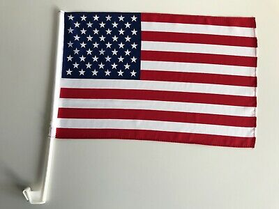 Autofahne Autoflagge USA 30x45 cm
