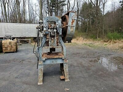 American Can Co. No. 4 12 Style E Mechanical Punch Press 220 1ph