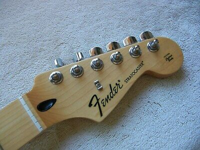 Genuine Fender Stratocaster Strat Neck Maple Fingerboard 2017 Great Shape!