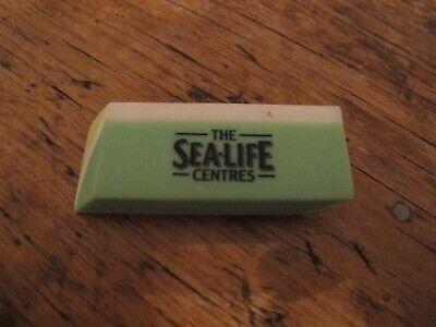 Sea Life Centre Vintage eraser rubber collectable yellow green