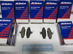FORD-FALCON-GENUINE-ACDelco-REAR-PADS-XR6-XR8-AU-BA-BF-FG-XT-FAIRMOUNT-FAIRLANE