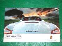 1997 97 Porsche Boxster Autoshow Showroom  Dealer Poster