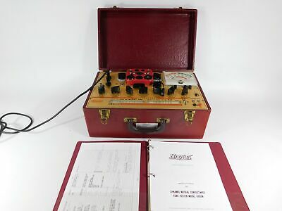 Hickok 6000a Vintage Mutual Conductance Tube Tester Very Nice Condition