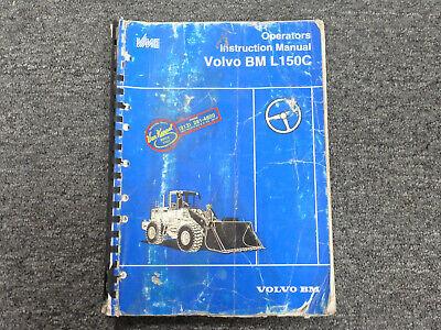 Volvo Bm Michigan Euclid L150c Wheel Loader Owner Operator Maintenance Manual