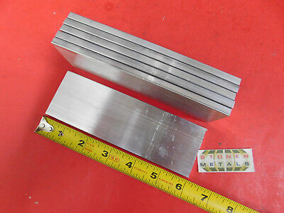 6 Pieces 14 X 2 Aluminum 6061 Flat Bar 6 Long T6511 Plate New Mill Stock