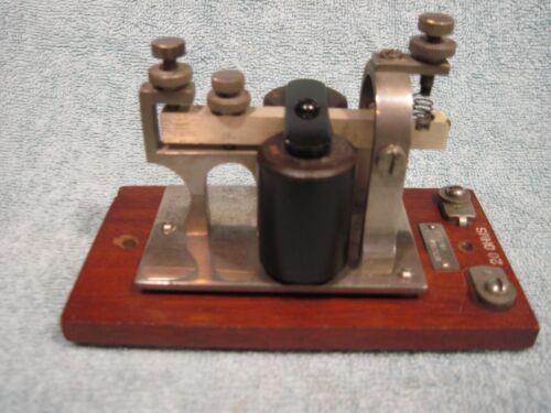 🔥RARE🔥 WESTERN ELECTRIC VINTAGE SOUNDER MORSE CODE TELEGRAPH SOUNDER RAILROAD