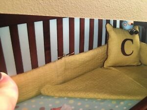 Custom Baby Bedding - 4 pieces! For girl or boy