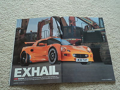 Lotus Exige (S1) First Road Test - Autocar Magazine